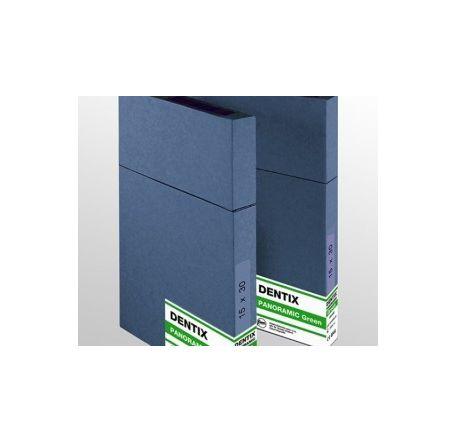 Пленка рентгеновская дентальная DENTIX PANORAMIC GREEN 15X30 (см)